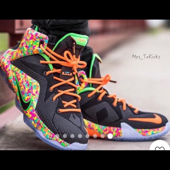 size 40 7ac3a 65ec3 Nike Lebron 12 Fruity Pebbles. M 5cbfc2498d6f1a49d4afc024